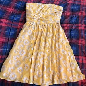 Tracy Reese Embroidered Sunflower Dress NWOT